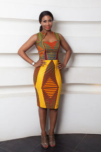 Fitted Dress - Ufumbuzi - Home