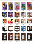 African Decorative Custom Light Switches