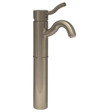 Whitehaus Venus Single Hole/Single Lever Elevated Lavatory Faucet  in Brushed Nickel