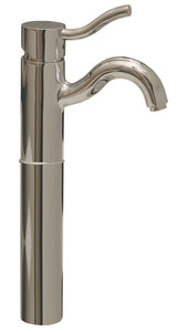 Whitehaus Venus Single Hole/Single Lever Elevated Lavatory Faucet  in Chrome