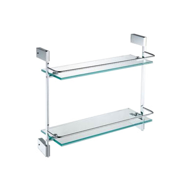 KubeBath Aqua Fino Double Glass Shelve