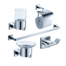 Load image into Gallery viewer, Fresca Glorioso 5-Piece Bathroom Accessory Set in Chrome