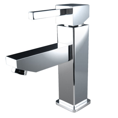 Fresca Bevera Single Hole Mount Bathroom Vanity Faucet in Chrome
