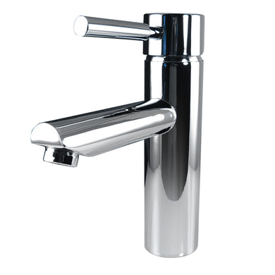 Fresca Tartaro Single Hole Mount Bathroom Vanity Faucet in Chrome