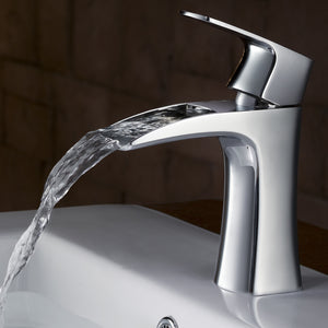 Fresca Fortore Single Hole Mount Bathroom Vanity Faucet