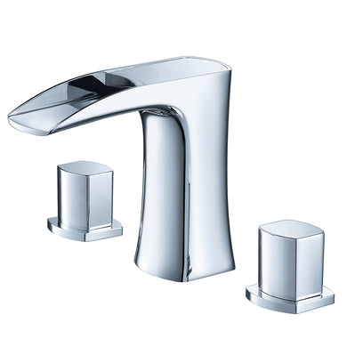 Fresca Fortore Widespread Mount Bathroom Vanity Faucet