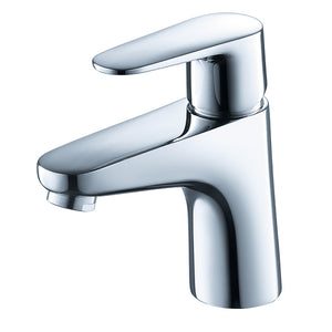 Fresca Diveria Single Hole Mount Bathroom Vanity Faucet in Chrome