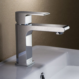 Fresca Allaro Single Hole Mount Bathroom Vanity Faucet