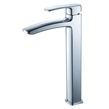 Load image into Gallery viewer, Fresca Fiora Single Hole Vessel Mount Bathroom Vanity Faucet in Chrome
