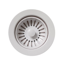 "Load image into Gallery viewer, Whitehaus 3 1/2"" Basket strainer in White"