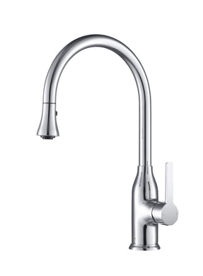 Stufurhome Everton Kitchen Faucet Gooseneck Single Lever Mixer