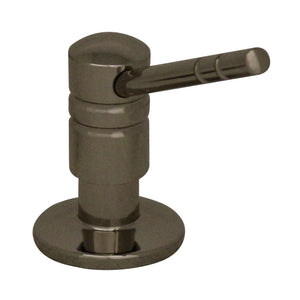 Whitehaus Discovery Solid Brass Soap/Lotion Dispenser  in Nickel