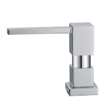 Load image into Gallery viewer, Whitehaus Q-Haus Solid Brass Soap/Lotion Dispenser  in Brushed Nickel