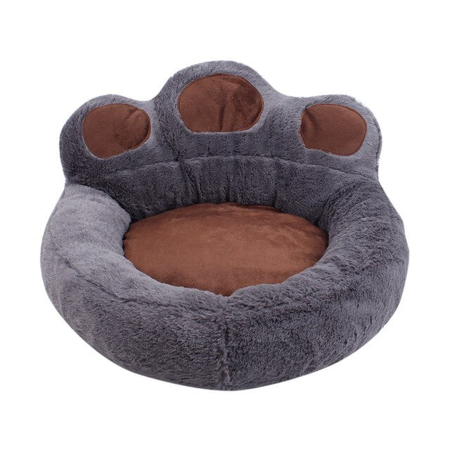 Dog Cat Winter Warm Sleeping Bag Bear Claw Pet Bed Calming Dog Bed Detachable Winter Cat Dog Kennel Puppy Mat Pet Bed
