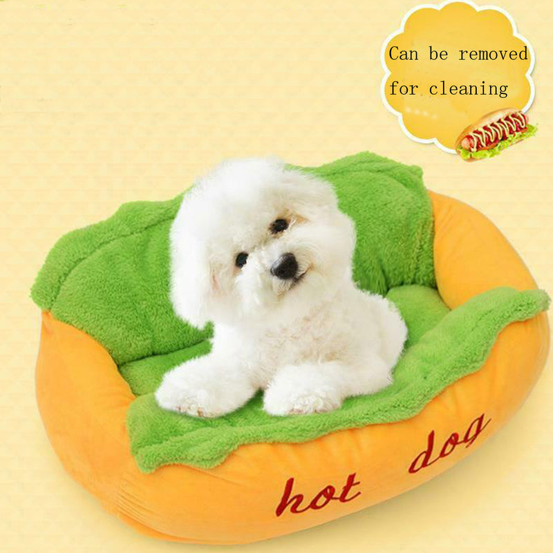 Funny Hot Dog Bed