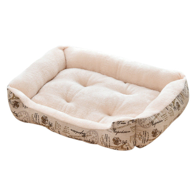 Soft Warm Thick Short Plush Velvet Dog Bed Washable Dog For Large Dog Basket Pet Bed Kennel  Dog House Velvet Mat Sofa