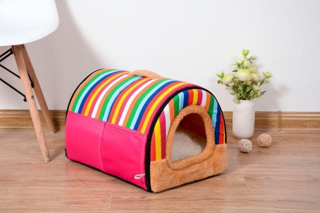 Ultra Soft Dog House with cosy and comfortable Bed
