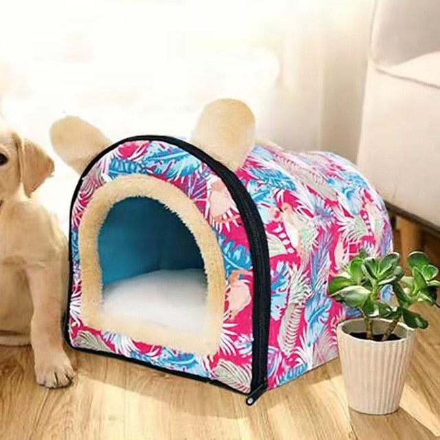 Comfortable Small Dog Cave Lovely and Cozy Bed