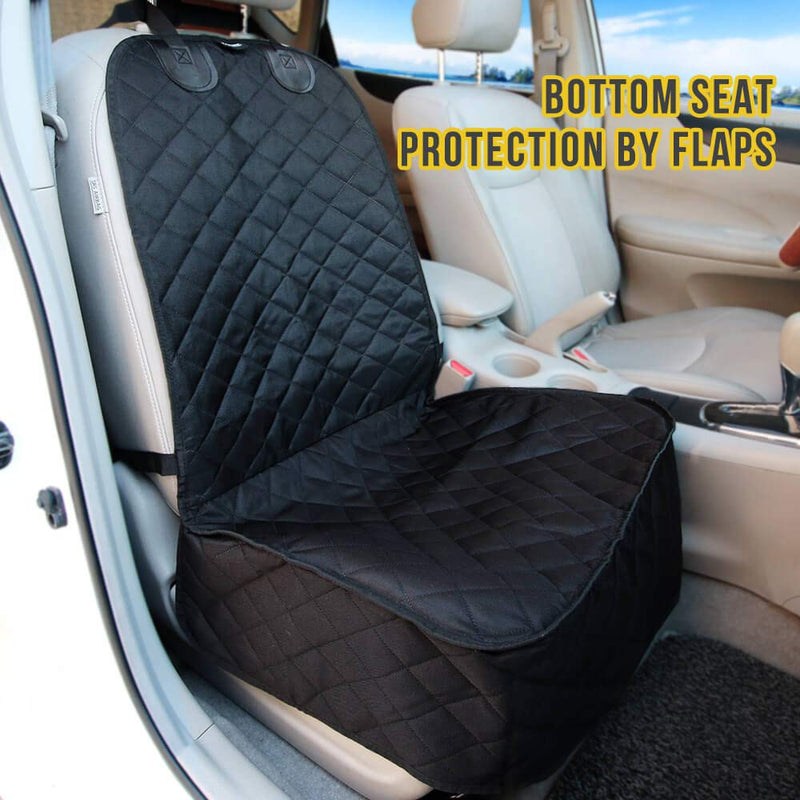 100% Waterproof Dog Car Seat Covers for Cars, Trucks and SUV Front Seat