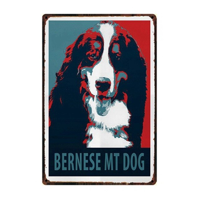 Dog Every Day Is Better With A Husky Metal Sign Tin Poster Home Decor Bar Wall Art Painting 20*30 CM Size Dy58