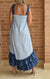 Vestido High-Low Blue + Blue (205129)