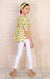 Set Camisa Manga Larga Y Jegging Basico Blanco (20669-20670)