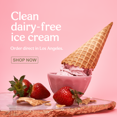 Clean Dairy-Free Ice Cream Order Direct in Los Angeles