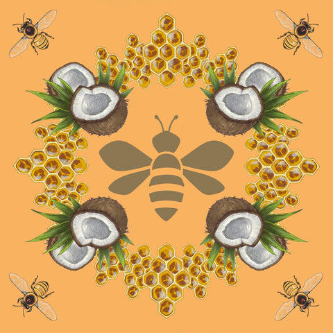 NAPP'S Brazilian Honey Mandala