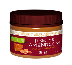 Pasta de Amendoim Salted Caramel Eat Clean 300g