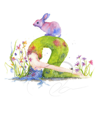 Rabbit Pose