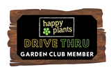 Happy Plants Garden Club Membership until 30th November 2021- 10% off all orders plus a free Planted Container with your first order