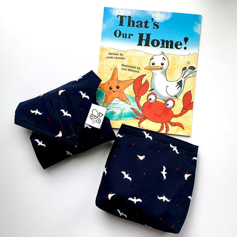 Jude Lennon: Children's Book Bundles-'That's Our Home' (inspired by Formby Beach) plus special gifts