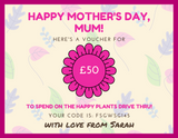 Mother's Day Gift Cards