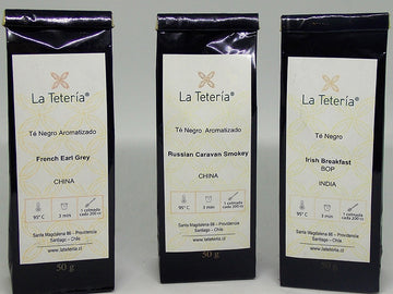 Te Negro French Earl Grey Teteria 50 gr.