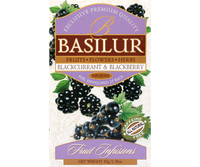 Infusión Basilur blackcurrant and blackberry 25 bolsas