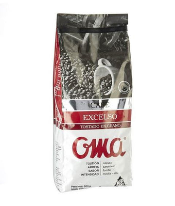 Café Oma excelso Grano 500 gr