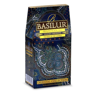 Té negro Magic Night Basolur 100 grms.