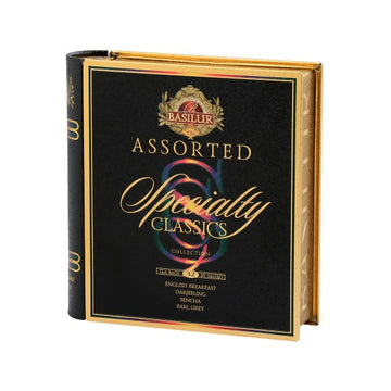 Te Basilur Assorted Specialty Classics Teabook 32B