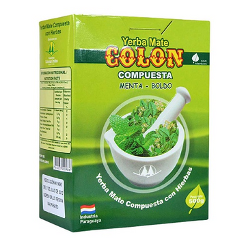 Yerba Mate Colon con menta 500 grs.
