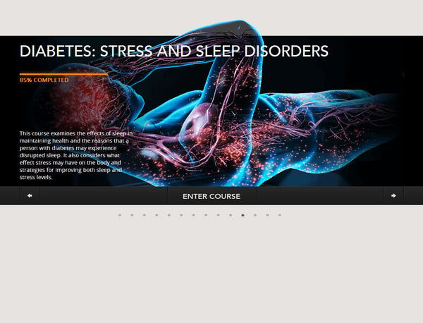 Diabetes: Stress And Sleep Disorders