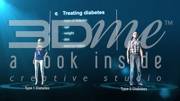 What are the factors that determine what kind of treatment a person with diabetes needs?