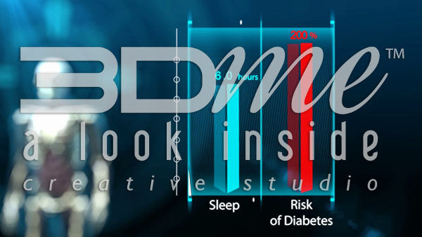 How can lack of sleep contribute to the symptoms of diabetes?
