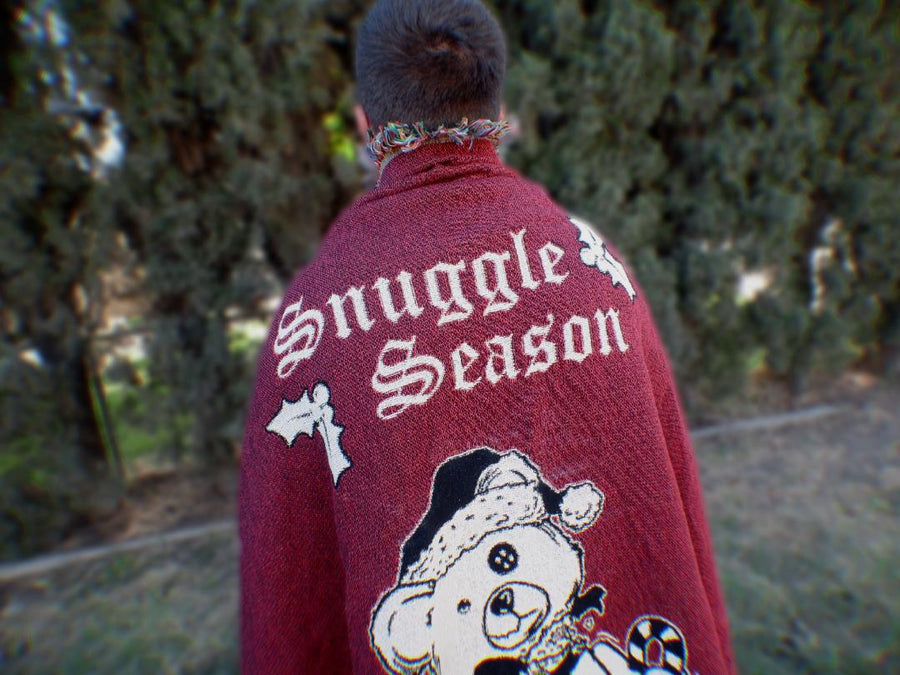 Snuggle Season Woven Blanket (Pre-Order ONLY)