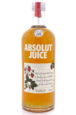 "Absolut Juice ""Strawberry"" Edition Flavored Vodka 1000 ml"