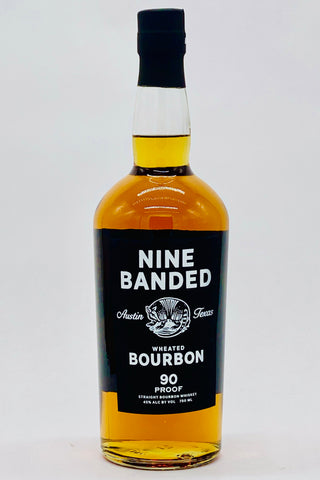 Nine-Banded Small Batch Straight Wheated Bourbon Whiskey