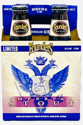 Founders Imperial Stout Limited Release Four Packs