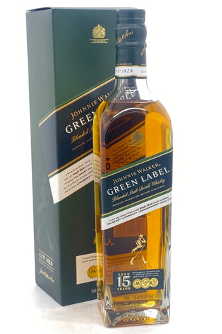 Johnnie Walker Green Label Aged 15 Years Scotch Whisky