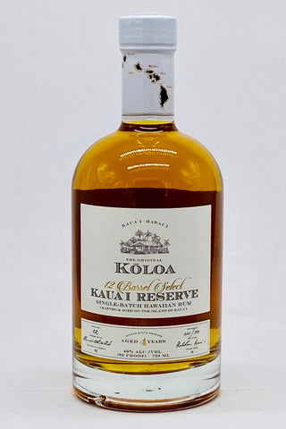 Koloa Kauai Reserve 12-Barrel Select 4 Year Old Aged Hawaiian Rum