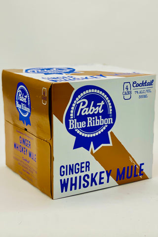 Pabst Ginger Whiskey Mule RTD Cocktail 4 x 355 ml Cans