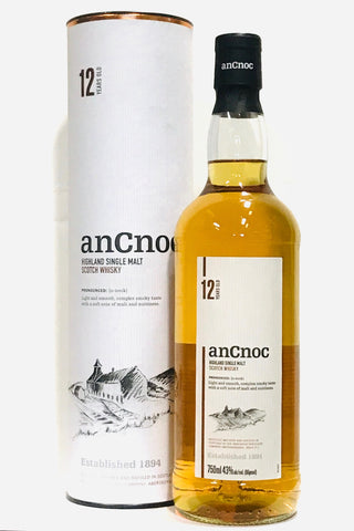AnCnoc 12 Year Old Scotch Whisky
